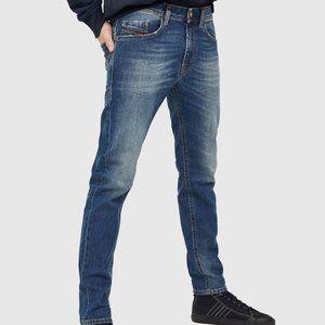 Men's Diesel Thommer Slim Skinny Blue Jeans 28